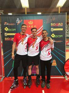 Éxito en Campeonatos de España 2018